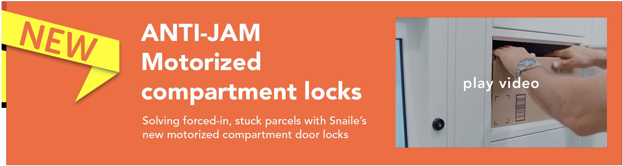 Anti jam compartment lock